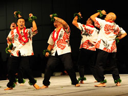 Men of the Academy of Hawaiian Arts
